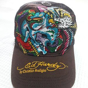 Ed Hardy Brown Hat